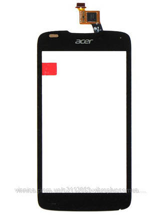 Тачскрин (сенсор) Acer E350 Liquid Gallant Duo, AK330, AK330S, AK330T, black (чёрный), фото 2