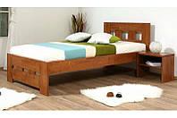 Кровать Space 90-200 см (орех)