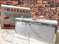 Инкубатор для яиц Наседка ИБМ-100 ручной, аналоговый,резаный пенопласт,края усилены металлом