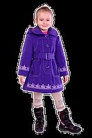 Модное пальто демисезонное для девочки