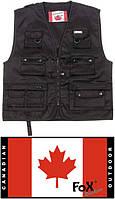Жилет канадский Fox Outdoor чёрный 04253A