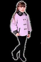 Пальто демисезонное короткое для девочек подростков