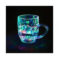 SALE! Чашка с подсветкой color cup стакан чашка с LED подсветкой