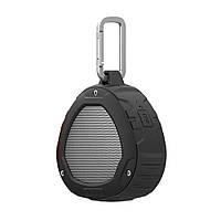 Портативная Bluetooth колонка с карабином Nillkin S1  Черная