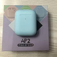 Наушники беспроводные AirPods Macaroon AP2 blue