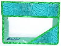 Папка. На липучках А4 Зеленая (кожа змеи) РА4-3993  JosefOtten