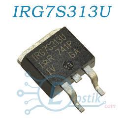 IRG7R313U, IGBT N Channel транзистор, 330В, 160А, TO263