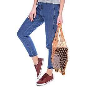 Торба  для продуктов, Шопер Авоська - желто-красная  - Хозяйственная сумка