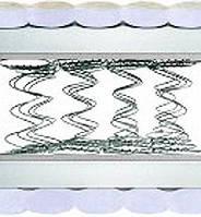 Двусторонний ортопедический матрас умеренной жесткости ТОКИО/TOKYO ЗИМА/ЛЕТО 80х190