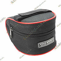 Велосипедная, подседельная сумочка Polo Sport (красная), фото 1