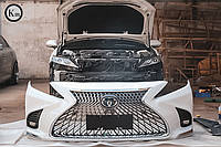 Тюнінг бампер Toyota Camry 2018+ р. в. стиль Lexus