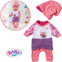 Оригинал. Костюм Класический для куклы Baby Born Zapf Creation 819371A