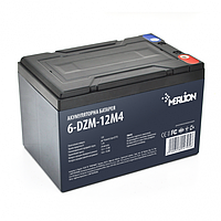 Тяговая аккумуляторная батарея AGM Merlion 6-DZM-12 12V 12Ah M5