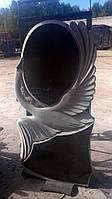 Памятник на могилу Лебедь с крестом, фото 1