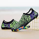 Качественная обувь для пляжа, бассейна (аквашузы), р.43 (275мм) УЦЕНКА!, фото 4