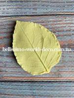 Молд лист Розы реалистичный, 5.5см х 4 см