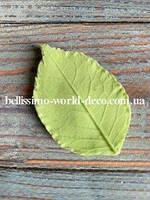 Молд лист Розы реалистичный, 5см х 3см
