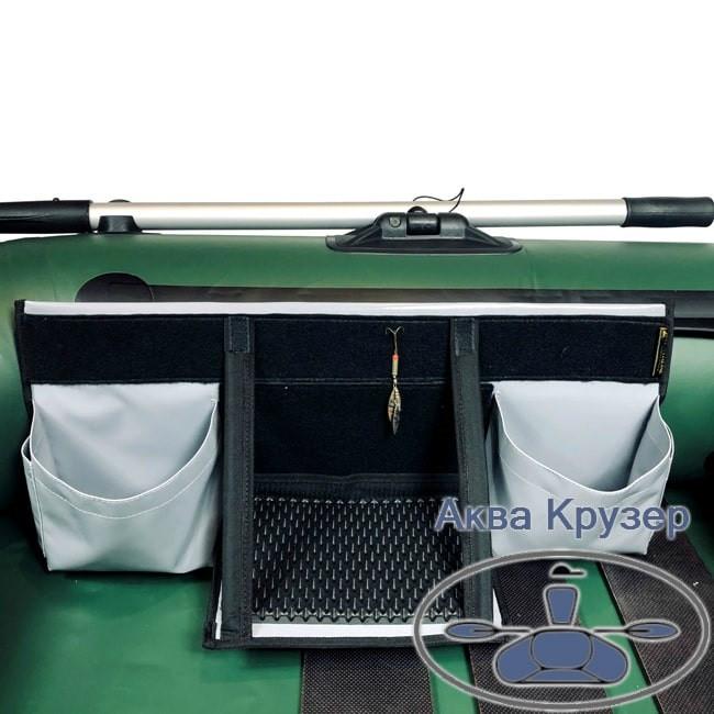 Бортова сумка органайзер на ліктрос надувного човна ПВХ (велика)
