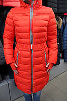 Куртка женская зимняя SNOWIMAGE SiCB-V306/Оранж