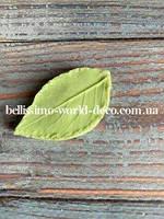 Молд лист Розы реалистичный, 4см х 2см