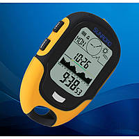 Портативная метеостанция Sunroad FR500 (7 в 1): альтиметр, барометр, компас, гигрометр, термометр, часы.