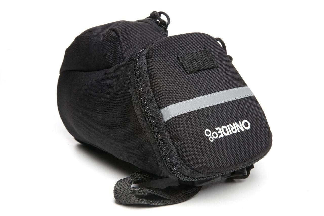 Сумка підсідельна ONRIDE Seat B Strap (об'єм 1,0 л) чорний