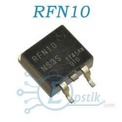 RFN10NS3S, диод super fast, 350В 10А, TO263