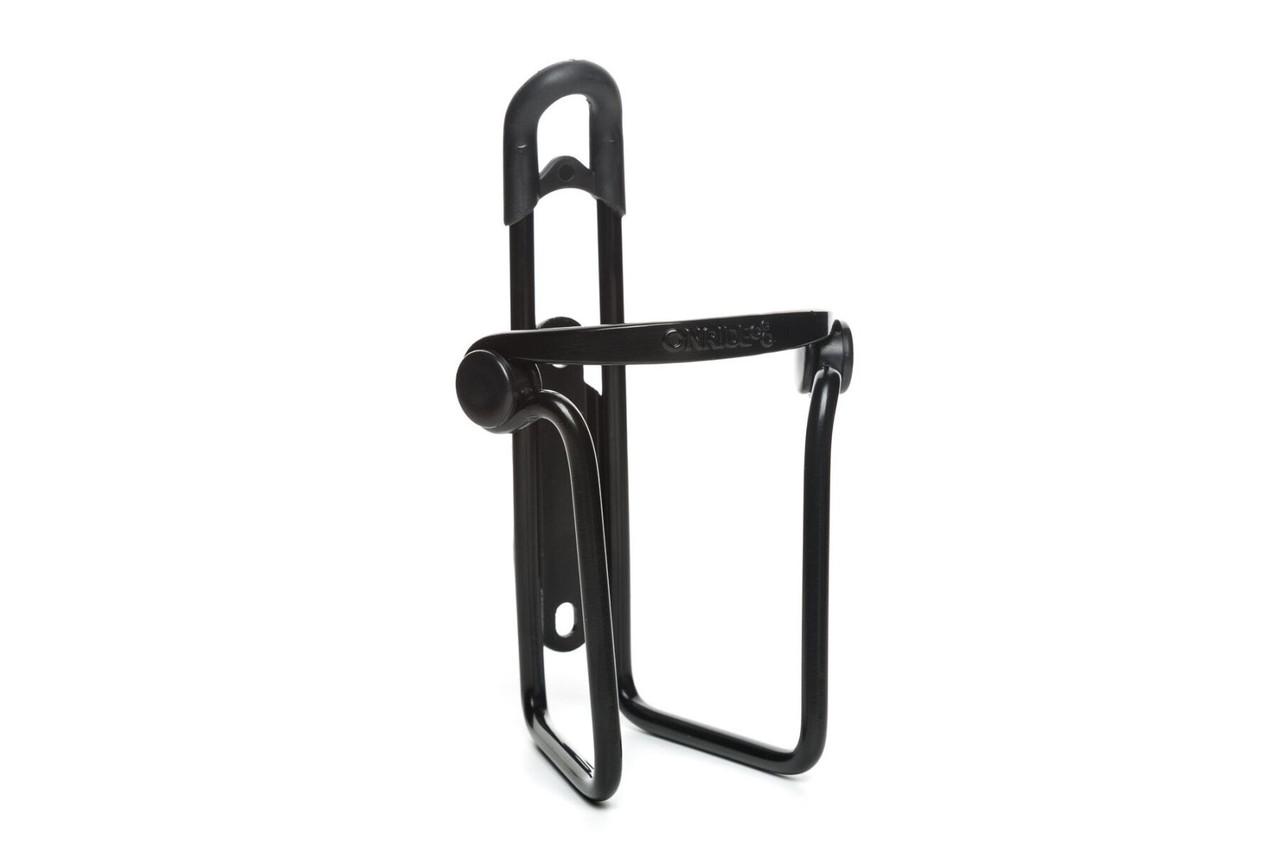 Фляготримач ONRIDE Slot 2.0 з вставками збоку і зверху чорний (плаский прут)