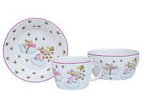 Набор детской посуды Lefard Мышки 3 предмета  924-486