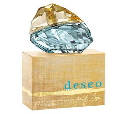 Жіночі парфуми JENNIFER LOPEZ Deseo 50ml парфюмированна вода, квітковий деревинно-мускусний аромат ОРИГІНАЛ