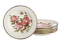 Набор тарелок Lefard Корейская роза 6 шт. 215-135