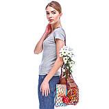 Французская сумка - сумка на плечо - Авоська на плечо - Модная эко сумка, фото 3