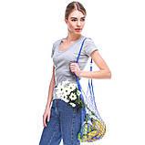 Французская сумка - сумка на плечо - Авоська на плечо - Модная эко сумка, фото 2