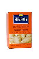 Имбирное мыло от раздражения и акне. Supaporn Ginger Herbal Soap.