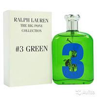 RALPH LAUREN The Big Pony Collection #3 Green (Ральф Лорен зе Биг Пони Колексшион №3 Грин) 125ml (ТЕСТЕР)-