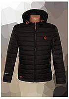 Куртка мужская демисезонная на весну 2020 черная, 50