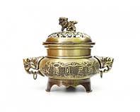 Чаша изобилия или ваза богатства для наполнения бронзовый цвет