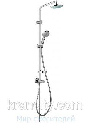 Двойная душевая система Hansgrohe  Showerpipe 27156 Inversa 160