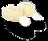 Домашние тапочки из овчины Sheepskin Размер 37-38, фото 3