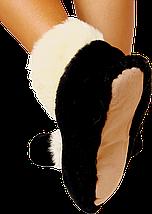Домашние тапочки из овчины Sheepskin Размер 35-36, фото 2