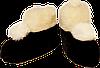 Домашние тапочки из овчины Sheepskin Размер 35-36, фото 4