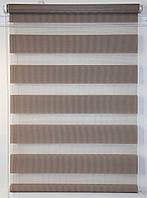 Готовые рулонные шторы 350*1600 Ткань ВН-02 Светло-коричневый