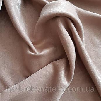 Плотная портьерная ткань для штор, Турция, цвет  французский беж