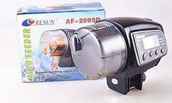 Кормушка автоматическая Resun AF-2005D для рыб на батарейках Ресан
