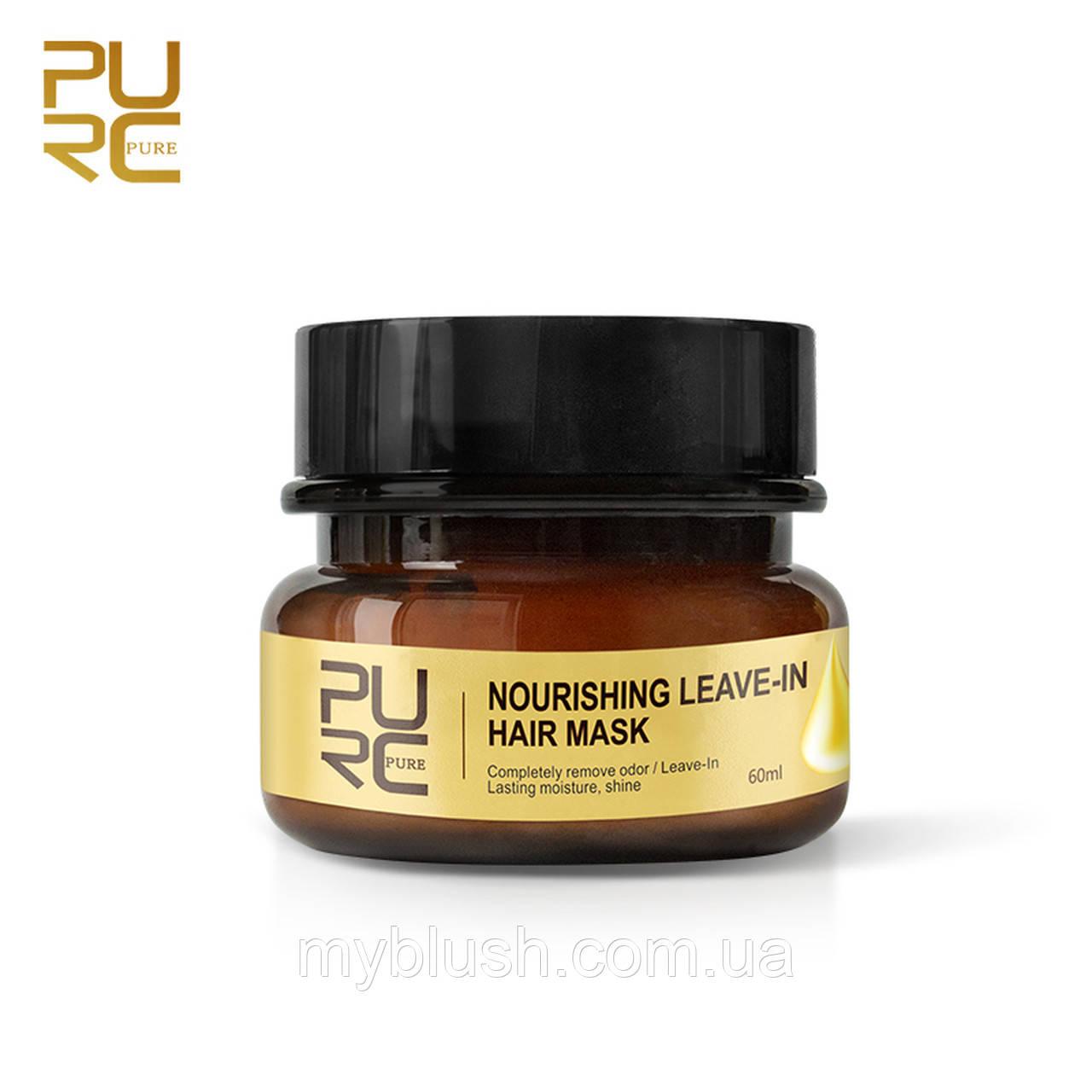Восстанавливающая маска для волос PURC PURE Nourishing Leave-in Hair Mask 60 ml