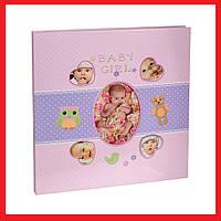 Детский фотоальбом Chako 20 Sheet 9840 Babylove Розовый