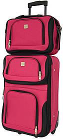 Комплект чемодан и сумка Bonro Best маленький Красный