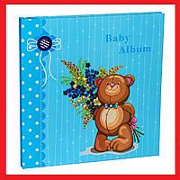 Детский фотоальбом Chako 20 Sheet 9840 Teddy Голубой