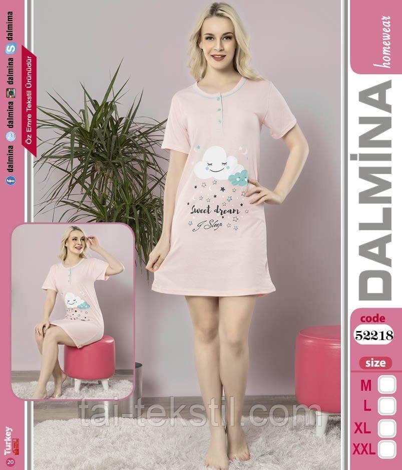 Туника молодежная на пуговичках хлопок 100% в разных цветах DALMINA Турция 52218
