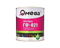Грунт алкидный OMEGA ГФ-021 антикоррозионный, серый, 3кг